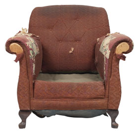 Furniture Medic of Victoria Upholstery and Leather Furniture Repairs and Restoration Before